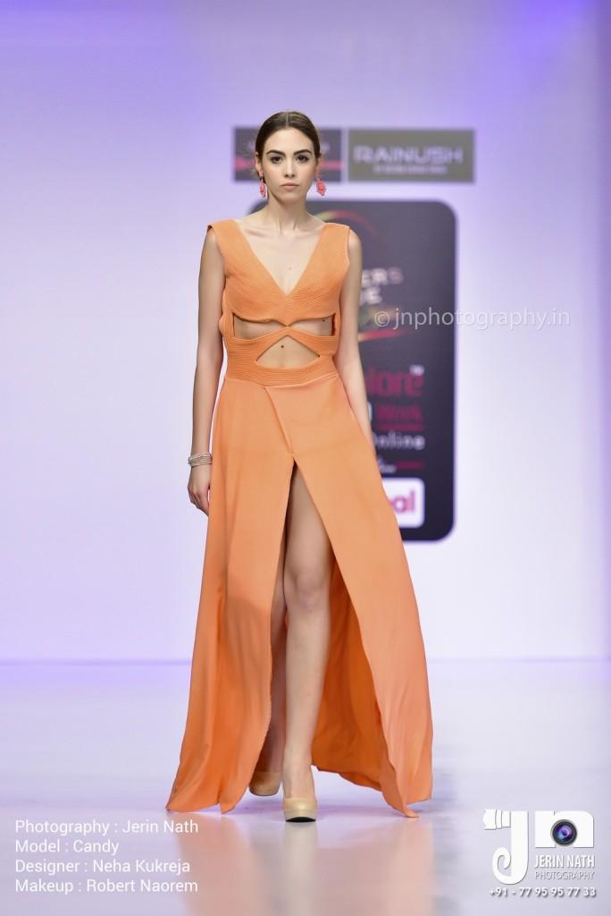 Bangalore Fashion Week 14th Edition - Neha Kukreja    Photo Courtesy : Jerin Nath