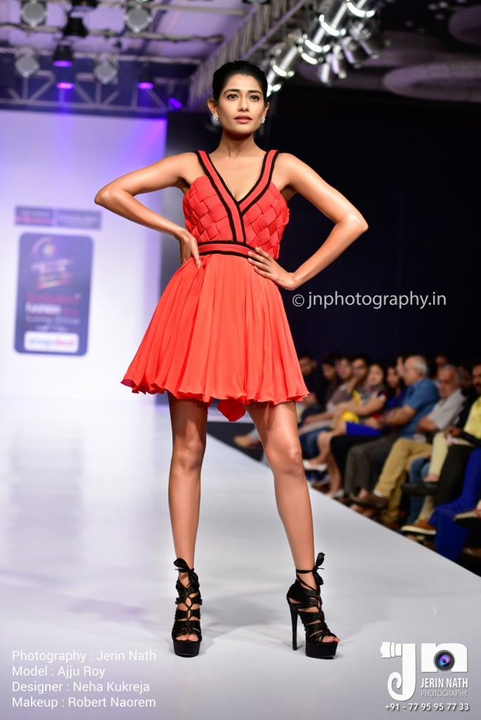 Neha kukreja bangalore fashion week 14th edition we love fashion Bangalore fashion style week
