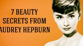 Seven great beauty secrets